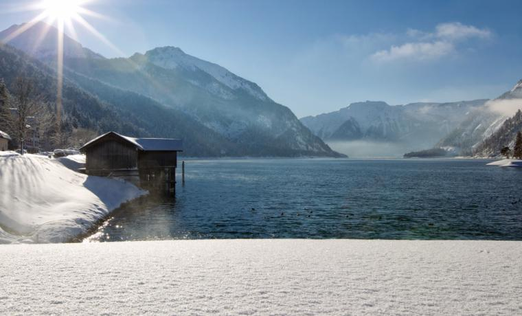Winter am Achensee